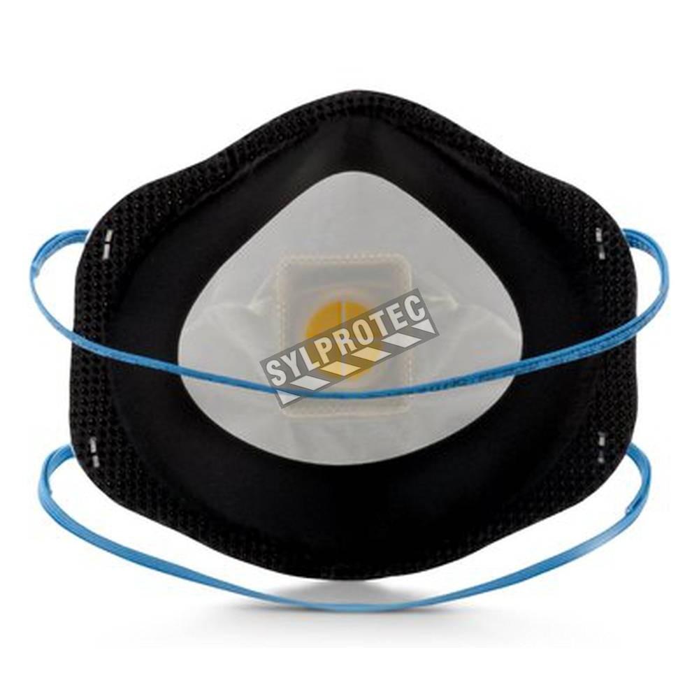 masque de protection respiratoire p95 avec soupape cool. Black Bedroom Furniture Sets. Home Design Ideas