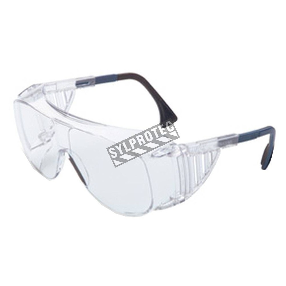 uvex ultra spec 2001 otg protective eyewear with clear