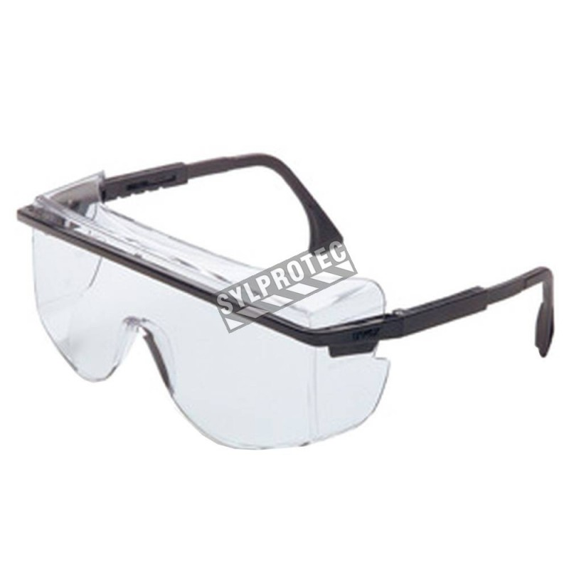 uvex astro otg 3001 protective eyewear with anti fog clear