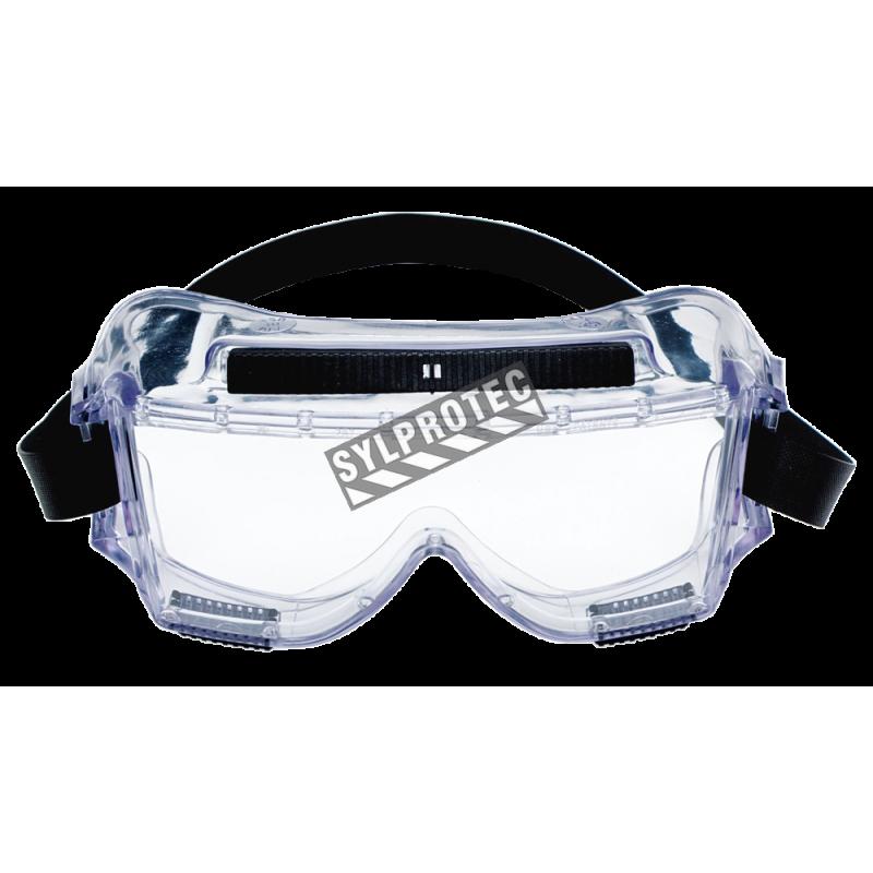 3m centurion safety splash goggle 454 with clear polycarbonate lenses - Chaise en polycarbonate transparent ...