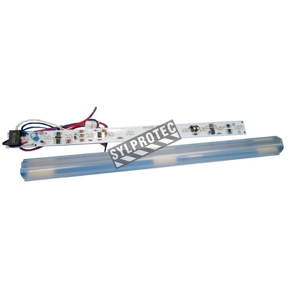 barre de lumi re 17 pouces ac 120 347 volts dc 6 24 volts sylprotec. Black Bedroom Furniture Sets. Home Design Ideas
