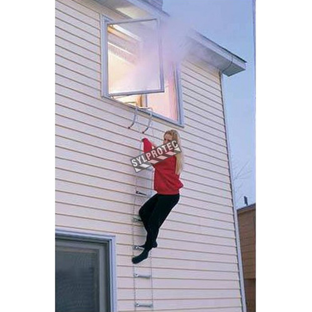 Kidde Emergency Escape Ladder 4m 13 Ft For 2 Storey