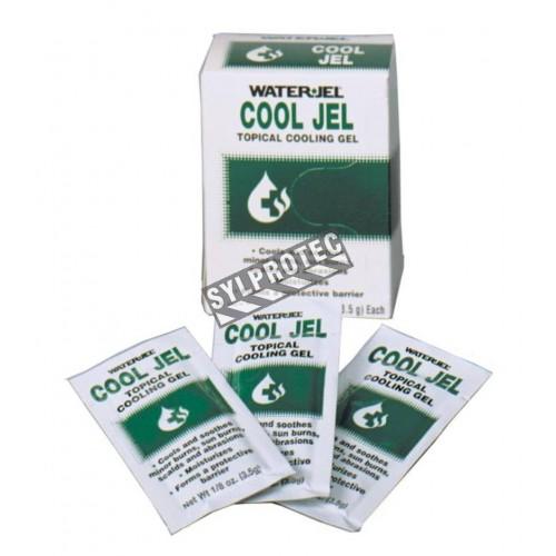 Sachets de gel pour brûlures Cool Jel, 3.5 g, 6/bte.
