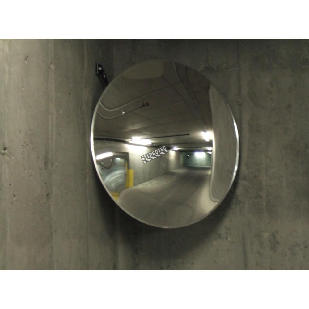 Miroir convexe en acrylique de diam tre for Miroir convexe exterieur