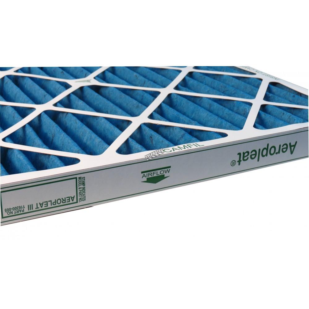 filtre secondaire pour machine hepa aire bulldog 24 x. Black Bedroom Furniture Sets. Home Design Ideas