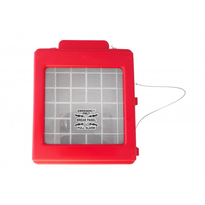 Protective Red Plastic Cover For Manual Fire Alarm Pull