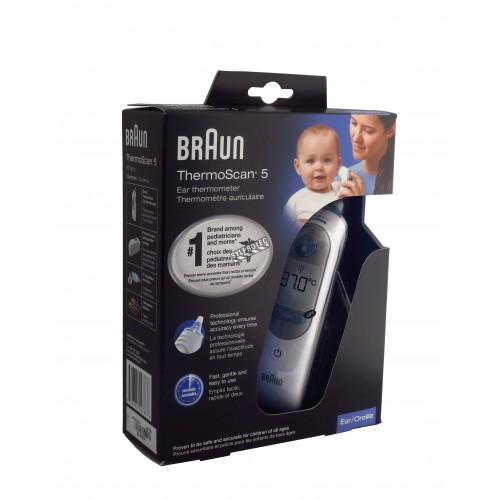 Thermomètre digital pour oreille, pour bébés et tout-petits.