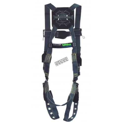 Harnais pour soudeurs Heavy Duty Welder de Miller, L-XL, 1 boucle dorsale, Quick-Connect à la poitrine. Groupe A.