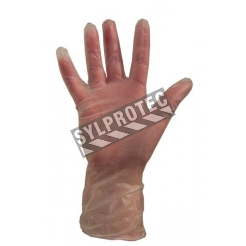 Vinyl glove 3 mil. bt/100 un. large