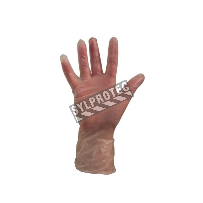 Vinyl glove 3 mil. bt/100 un. large