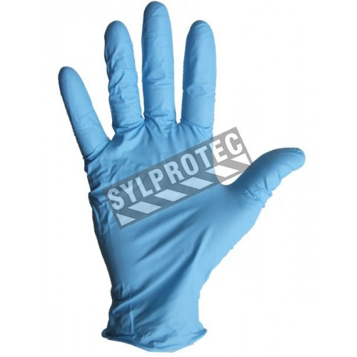 Nitrile glove powder free 4 mil. bt/100 un. large