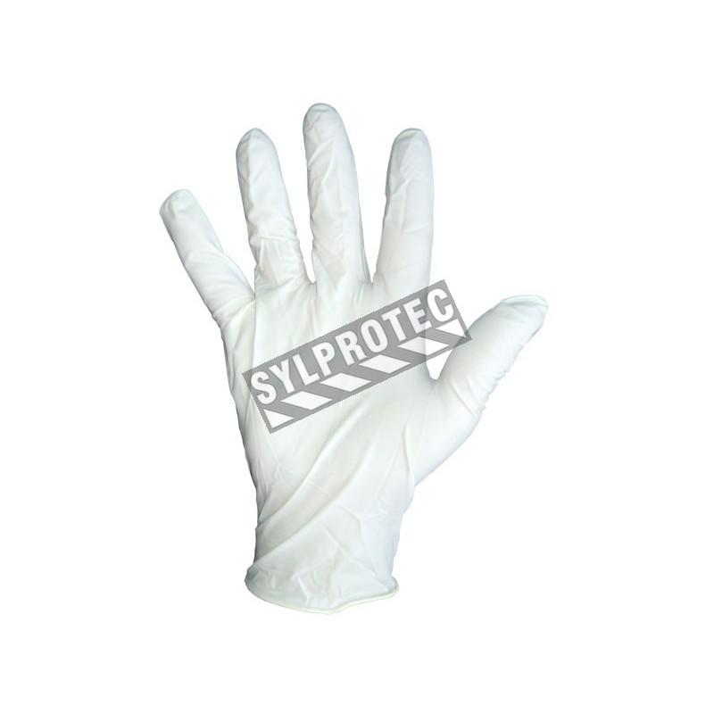 Latex glove powder free 9.5 in, 5 mil. bt/100 un. large