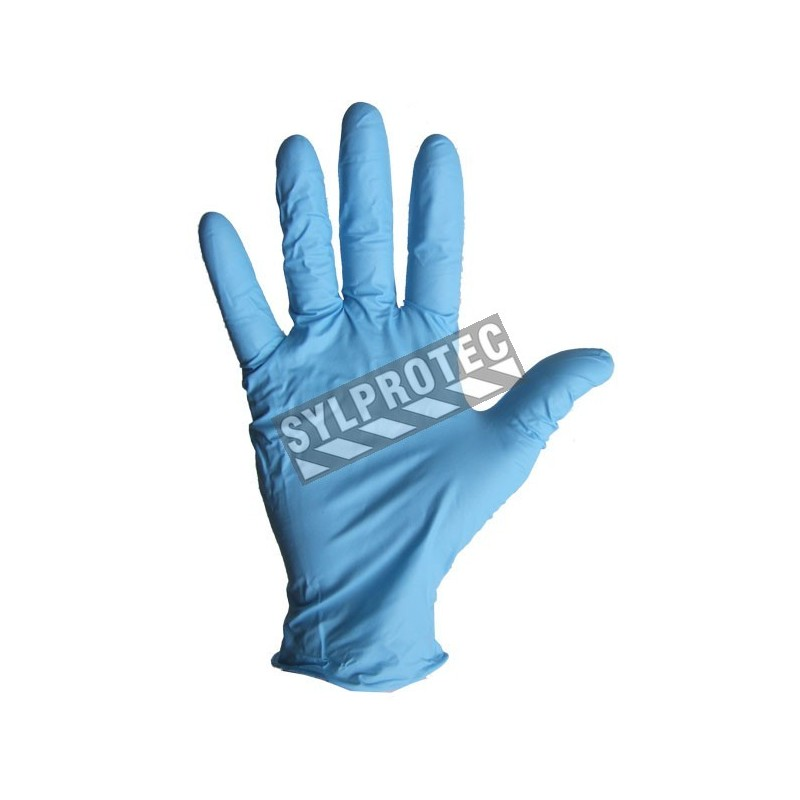 4 Mils Ambidextrous Powder Free Nitrile Gloves For First