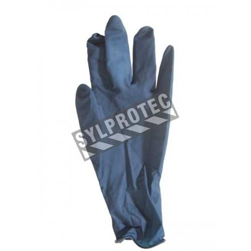 Latex glove powder free 11 in, 15 mil. bt/50 un. large