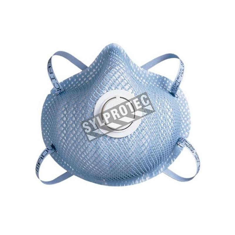 Masque jetable N95 MOLDEX 2300  bt/10 unitées