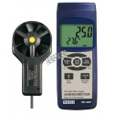 Thermo-anemometer and Data Logger.