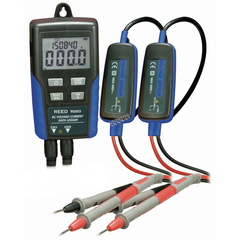 Instrument Current Electricity : Ac voltage current data logger