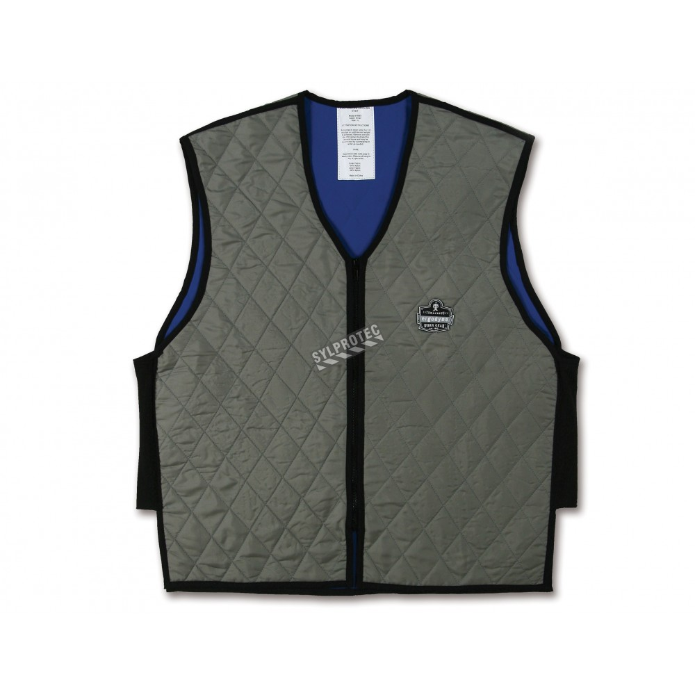 Evaporative Cooling Clothing : Evaporative cooling vest that gives you freshness and comfort