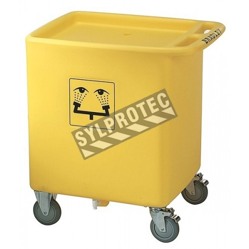 High visibility recuperation tank. 56 gal.us