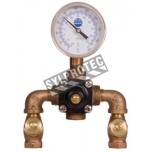 Thermostatic valve, 8 Usgpm to 30 psi.