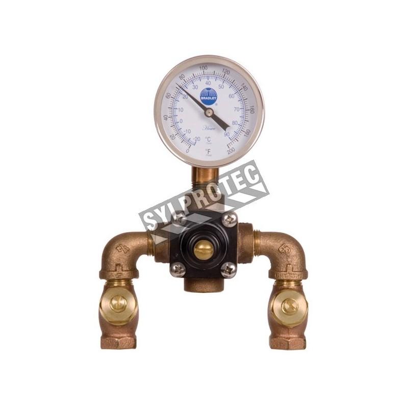 Valve thermostatique, 8 Usgpm à 30 psi.