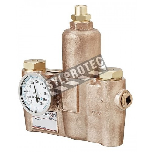 Thermostatic valve, 36 Usgpm to 30 psi.