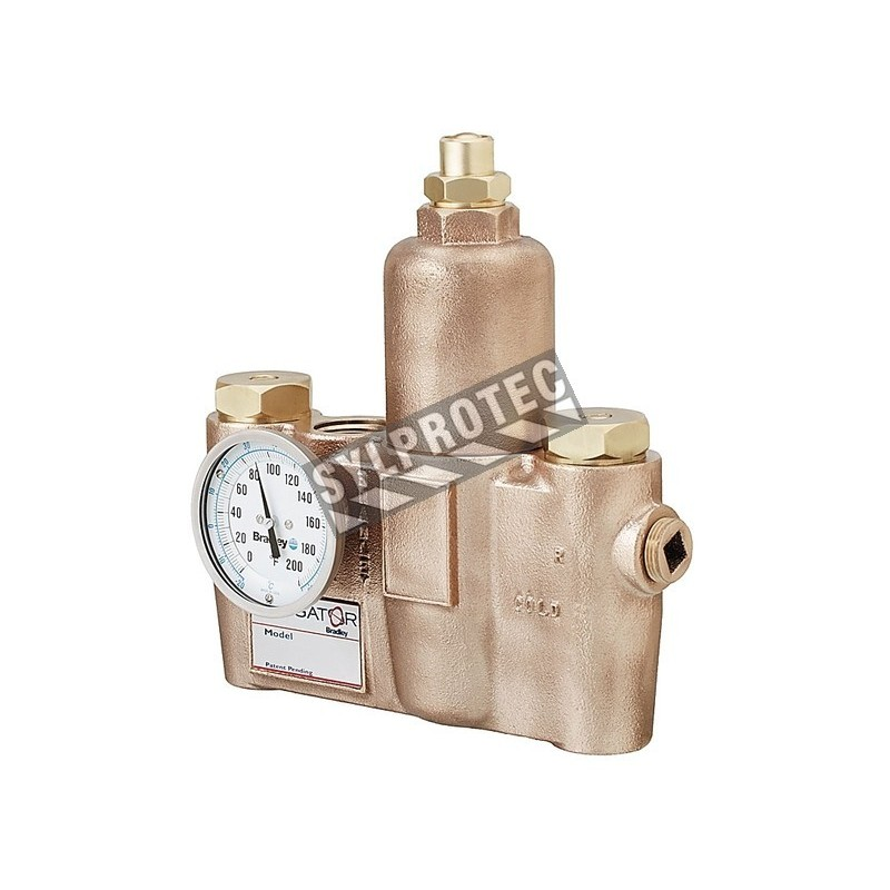 Valve thermostatique, 36 Uspm à 30 psi.