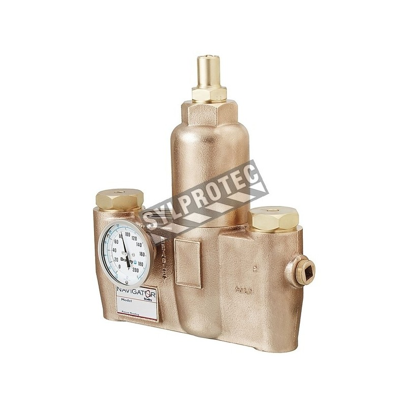 Thermostatic valve, 67 Usgpm to 30 psi.