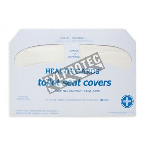 Toilet paper cover seat, 4 bags of 250 by box.