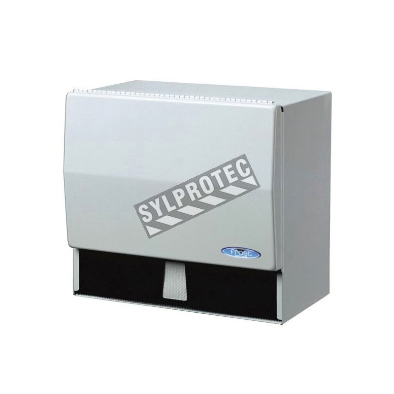 Distributor Universal Paper with metal cutting bar for standard paper rolls and folded single ply