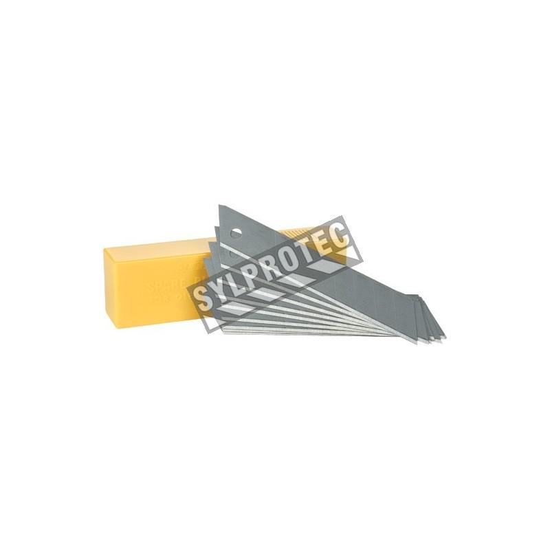 Lames de rechange pour couteau Olfa 18 mm, pq/10 unités