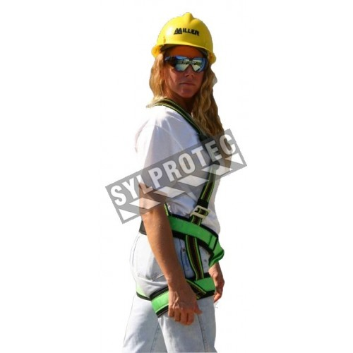 Harnais de sécurité pour femmes Miss Miller, 1 anneau dorsal, boucles entrelacées, classe A