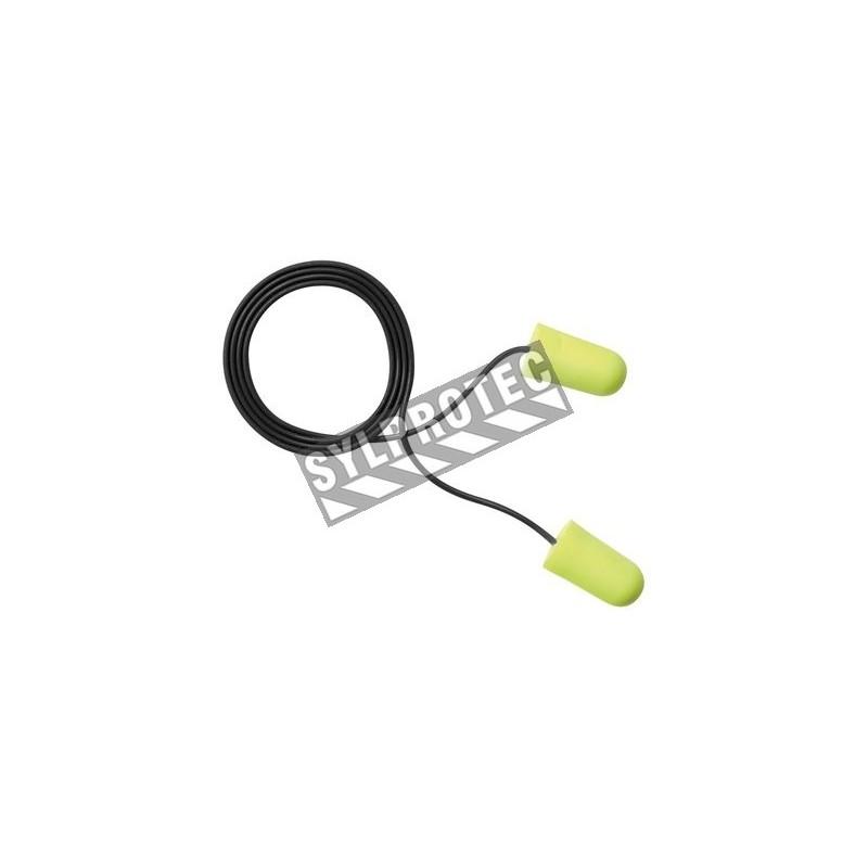 Bouchon EARSOFT détectable avec corde, 33 db. bt/200