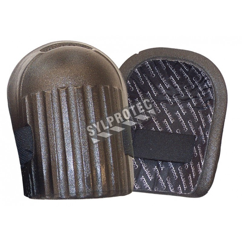 Genouillères tout-usage légères en mousse de co-polymère, avec doublure respirante (paire).