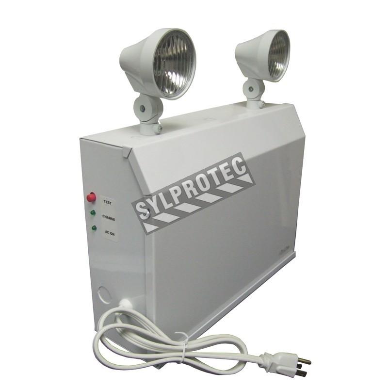 Unité d'éclairage d'urgence 12 V 160 W avec 2 phares