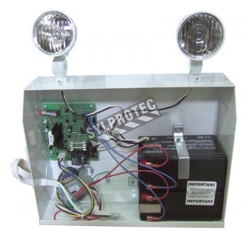 Unité d'éclairage d'urgence 12 V 200 W avec 2 phares