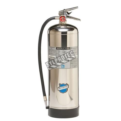 Extincteur portatif à l'eau sous pression, 2.5 gallons, classe A, ULC 2A, avec crochet mural