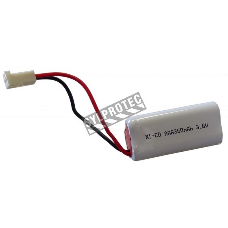 Batterie de rechange pour enseignes «Sortie» AimLite LUMB et LUMBA, 90 minutes d'illumination.