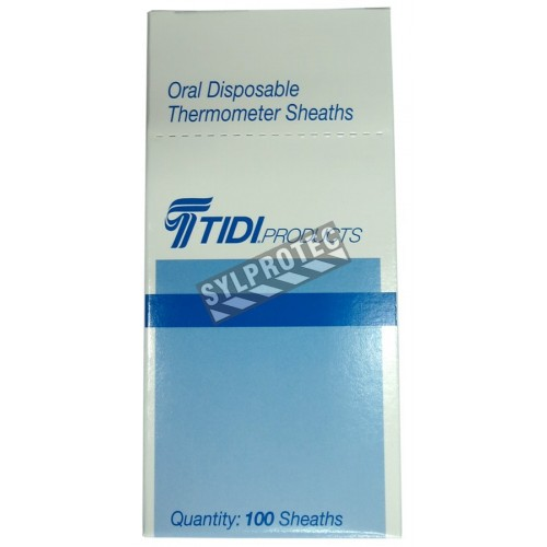 Disposable thermometer covers, 100/box.