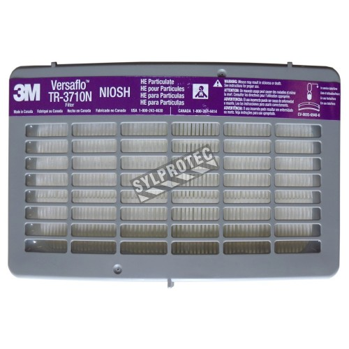 High efficasity 3M filter for system Versaflo TR300, box/5 unit