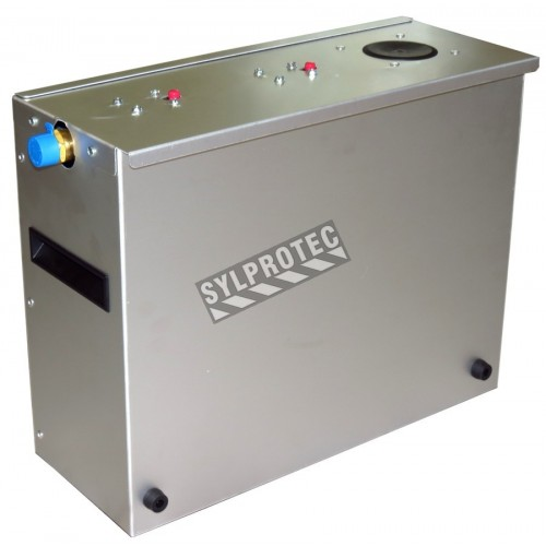 Wastewater filtration pump for TeleShower decontamination shower. 25 µm & 5 µm filters included.