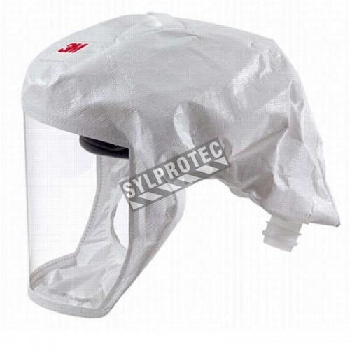 Coiffe blanche P/M de série S pour système de protection respiratoire en milieu pharmaceutique, médical et agroalimentaire.