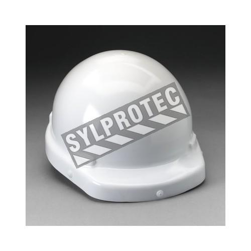 Ensemble de cagoule de protection respiratoire pour GVP avec bavette interne et casque dur et autres acessoires.