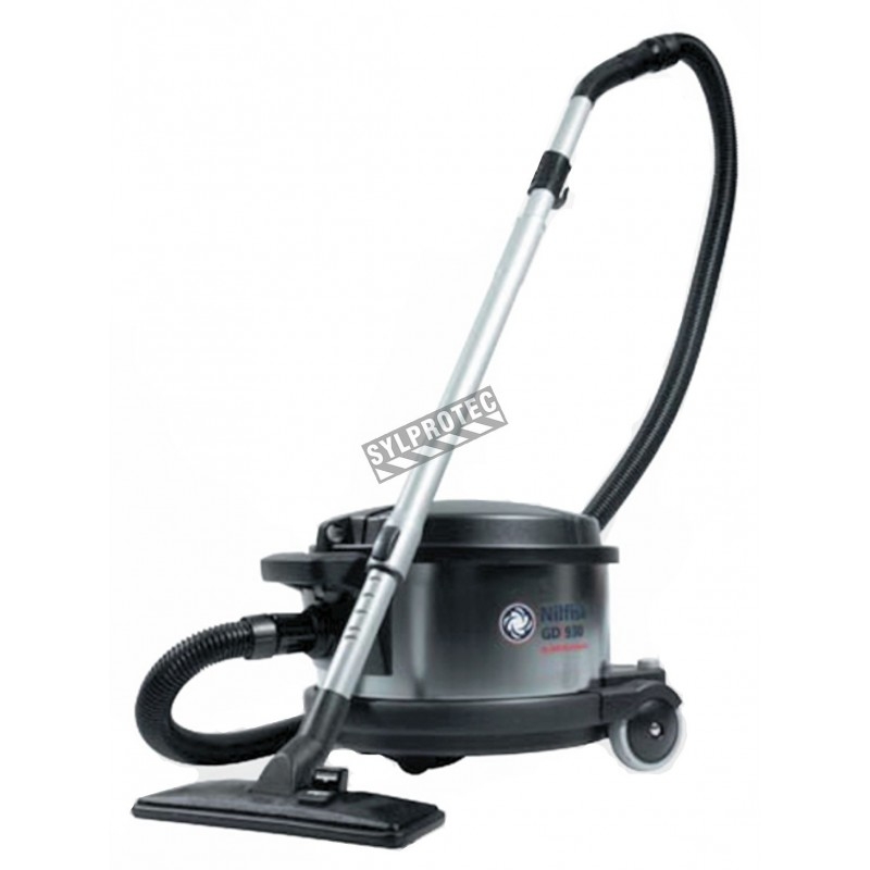 nilfisk industrial canister vacuum cleaner for abatement. Black Bedroom Furniture Sets. Home Design Ideas