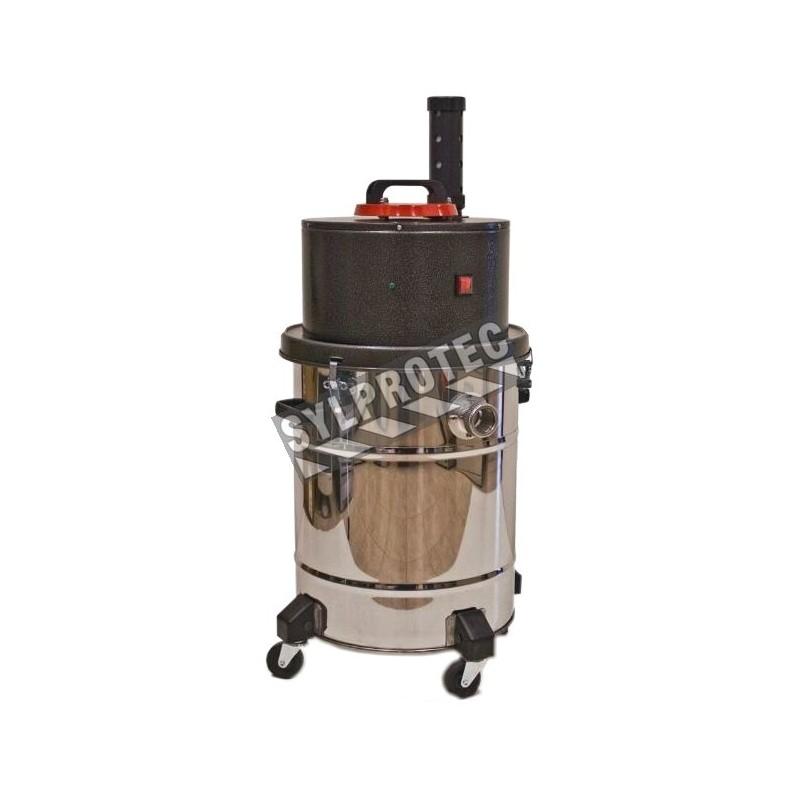 Hazvac Industrial Canister Vacuum Cleaner For Abatement