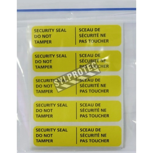 Security seals for fist aid containers, pq / 25 unit