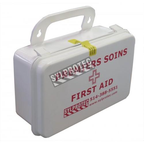 Scellés autocollants de sécurité pour trousses de premiers soins, 25/paquet.
