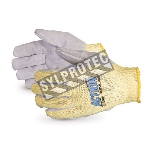 Needlestick resistant on 3 finger gloves large