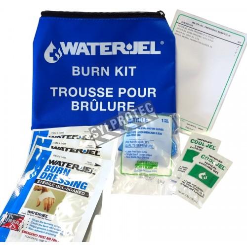 Small Water Jel emergency burn kit.