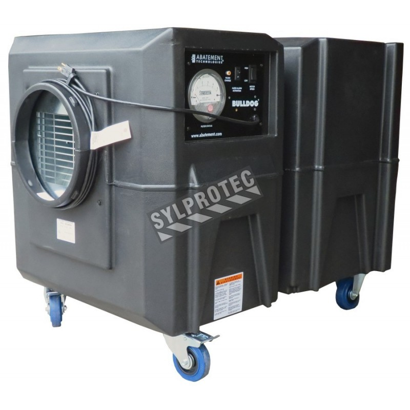 Bulldog Portable Air Scrubber With Airflow Of 1300 Cfm Or